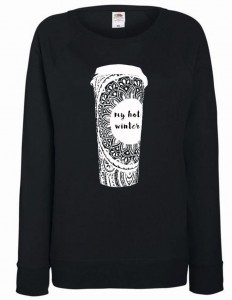 bluza - coffee zentagle
